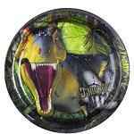 Dinosaur Attack - plates