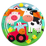 fun-farm-plate-from-Cosmos-party-supplies