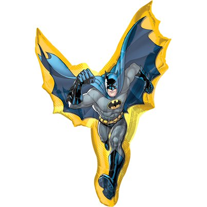 Batman-foil-balloon-from-Cosmos-party-supplies