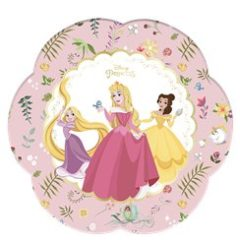 Truly-princess-plate-from-cosmos-party-supplies