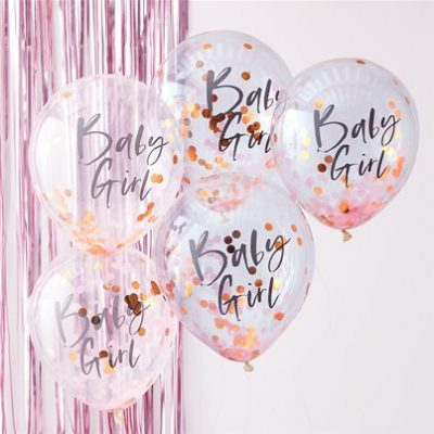 Baby-girl-confetti-latex-balloon-from-Cosmos-party-supplies