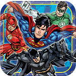 justice-league-paper-plate-from-cosmos-party-supplie