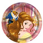 Beauty-and-the-beast-plate-from-cosmos-party-supplies