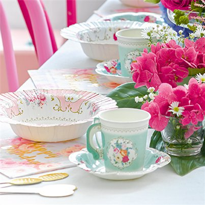 Truly-scruptious-plates-and-cups-from-Cosmos-party-Supplies