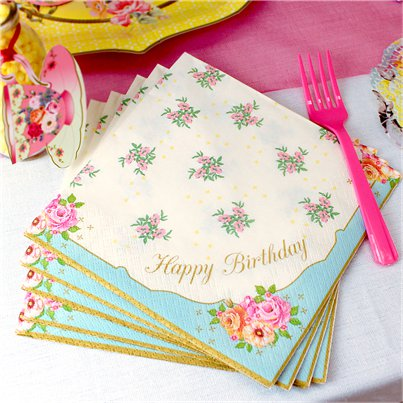 Happy-Birthday-floral-napkins-from-Cosmos-party-supplies