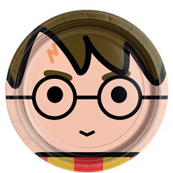 Harry-cartoon-plate-from-Cosmos-party-supplies