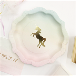 we-wish-heart-unicorn-plate-from-Cosmos-party-boxes