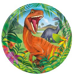 Dinosaur-adventure-plate-from-Cosmos-party-boxes
