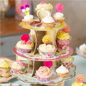 Floral-cake-stand-from-Cosmos-party-boxes