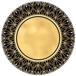 Vintage-gold-centre-from-Cosmos-party-boxes