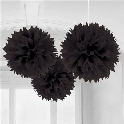 Black-pom-poms-from-Cosmos-party-boxess