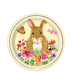 floral-Easter-bunny-plate-from-Cosmos-party-boxes